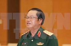 Visite officielle d'une délégation militaire vietnamienne au Laos