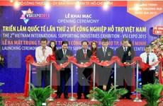 Ouverture de l'exposition internationale sur l'industrie auxiliaire Vietnam 2015