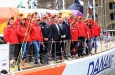 """Un voilier baptisé Da Nang-Vietnam engagé à la """"Clipper Race"""""""