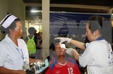 Soins ophtalmologiques gratuits pour les pauvres laotiens