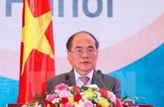 Le président de l'AN Nguyen Sinh Hung quitte le pays pour les Etats-Unis