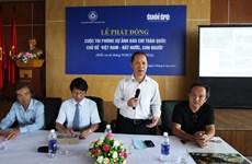 Lancement du concours du photoreportage sur le Vietnam