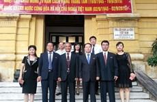 Syndicat : renforcement de la coopération entre le Vietnam et la RPD de Corée