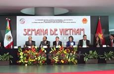 Inauguration de la Semaine du Vietnam au Mexique