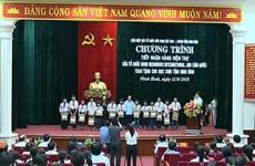 La République de Corée soutient des élèves démunis de Ninh Binh