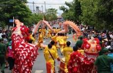 La fête traditionnelle des pêcheurs de Cân Gio