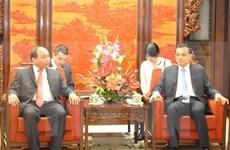 Le vice-PM Nguyen Xuan Phuc rencontre le PM chinois