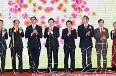 Le chef de l'État à l'inauguration du Centre commercial SC VivoCity