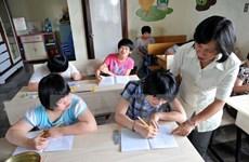 La CBM appuie l'éducation intégrée des enfants handicapés à Quang Ngai