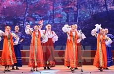Ouverture d'un festival de la culture russe à Hanoi