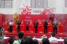 Inauguration d'un centre commercial Vincom à Hai Phong