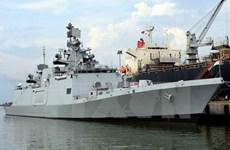 La frégate de la Marine indienne INS Sahyadri fait escale à Da Nang