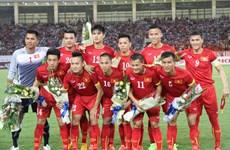 Le Vietnam gagne trois places dans le classement FIFA