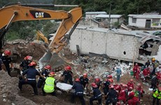 Glissement de terrain au Guatemala : message de sympathie du Vietnam
