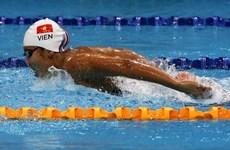 Natation: Anh Viên remporte une médaille de bronze en R. de Corée