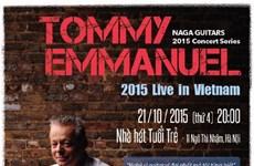 Le guitariste légendaire Tommy Emmanuel se produira au Vietnam