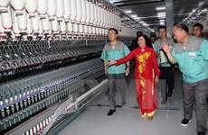 Tay Ninh : inauguration d'une usine de fibres textiles