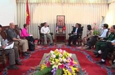 Déminage : une délégation américaine en visite à Quang Tri