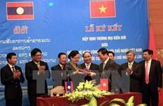 Adoption de l'accord sur le commerce transfrontalier Vietnam-Laos