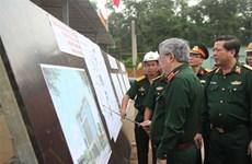 Inspection de l'entraînement des forces participant aux opérations de maintien de la paix de l'ONU