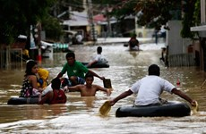Le typhon Koppu fait une cinquantaine de morts aux Philippines