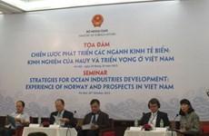 La Norvège partage ses expériences dans l'économie maritime