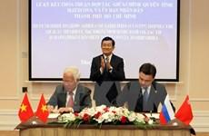 Intensifier la coopération entre Ho Chi Minh-Ville et Moscou