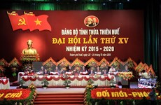 Ouverture du 15e Congrès de l'organisation du PCV pour Thua Thien-Hue