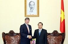 Le vice-PM Vu Van Ninh reçoit le directeur général de Citigroup