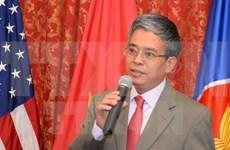 Echange culturel entre les ambassades du Vietnam et du Laos aux Etats-Unis