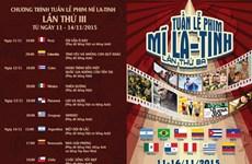La troisième Semaine du film d'Amérique latine à Hanoi