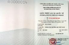 Le Vietnam délivre le permis de conduire international