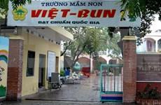 L'ambassadeur de Bulgarie visite l'école maternelle Vietnam-Bulgarie