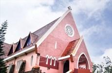 Beauté de la cathédrale Domaine de Marie à Dalat