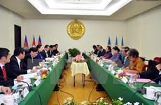 Une haute délégation du PCV en tournée de travail au Cambodge