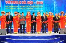 VietBuild 2015, l'expo internationale de la construction à Hanoi