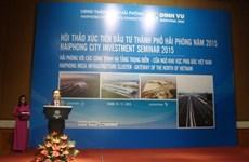 Hai Phong, destination de choix pour les investisseurs