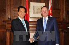 Le Vietnam et la Nouvelle-Zélande renforcent leur relation de partenariat intégral
