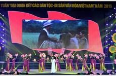 """Ouverture de la semaine """"Grande solidarité des ethnies – Patrimoine culturel du Vietnam"""""""