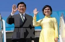 Truong Tan Sang part pour le 23e Sommet de l'APEC aux Philippines