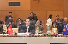 Réunion préparatoire du 27ème sommet de l'ASEAN et des conférences connexes