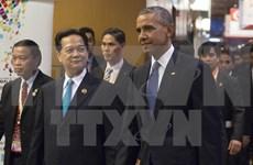 Le PM Vietnamien rencontre le président américain Barack Obama