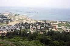 Un projet d'alimentation en eau potable démarre sur l'île de Ly Son