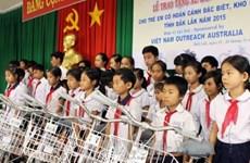 Dak Lak : cadeaux aux enfants handicapés et aux enfants démunis