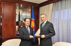 Le Pakistan souhaite renforcer la coopération avec l'ASEAN
