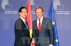 Rencontres entre Nguyen Tan Dung et des dirigeants de l'UE