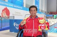 ASEAN Para Games 8 : quatorze médailles d'or pour le Vietnam