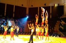 Ouverture du concours de cirque 2015 Vietnam-Laos-Cambodge