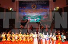 Clôture du concours de cirque 2015 Vietnam-Laos-Cambodge