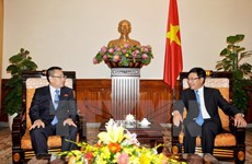 Le vice-Premier ministre Pham Binh Minh reçoit l'ambassadeur de RPDC